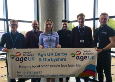 Barron McCann Supports Age UK and The Padley Group