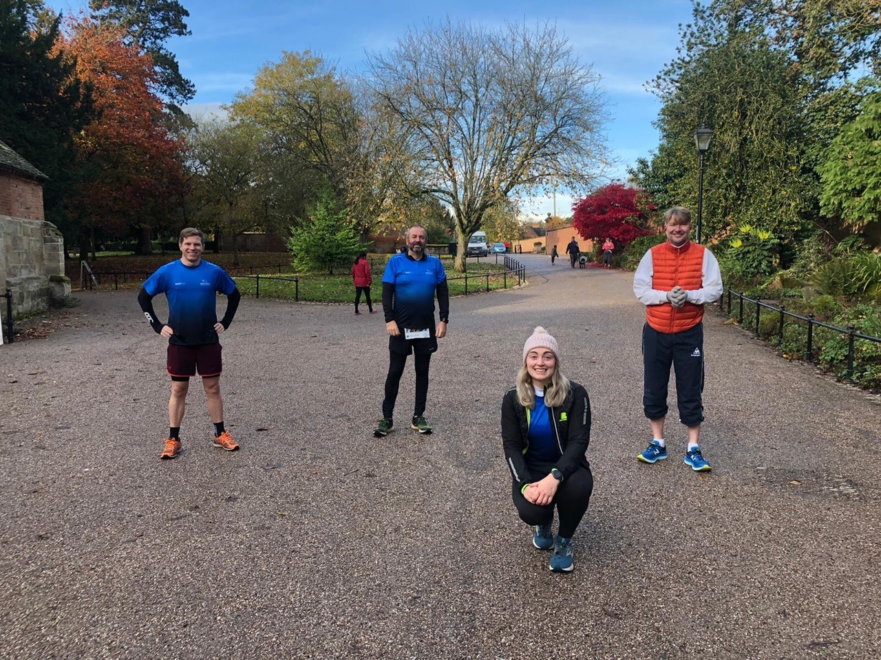 Team BMc completed a virtual 10km challenge to raise money for Age UK