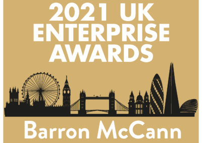 Barron McCann: 'Best Field Engineering Technology Company 2021'